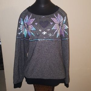 VS PINK BLING HOLIDAY SWEATER